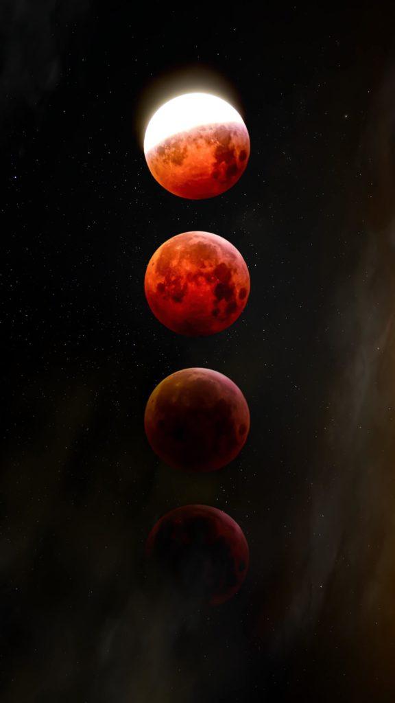 fasi luna rossa
